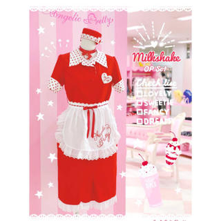 Angelic Pretty - milkshake赤
