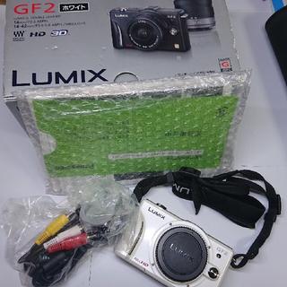 Panasonic - 大分お値下げしました!Lumix GF2白色本体です! 動作確認済みです!