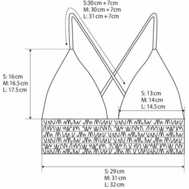 ALEXIA STAM(アリシアスタン)のAlexia Stam ↠ ピンクアガベ⋆水着 ビキニ レディースの水着/浴衣(水着)の商品写真