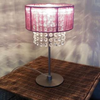 フランフラン(Francfranc)のフランフラン 間接照明ランプ ピンク(フロアスタンド)