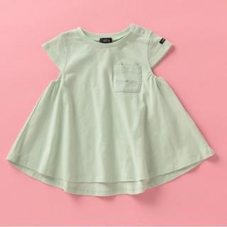 petit main - タグ付き新品❀✿プティマイン オーガニックコットン AラインTシャツ 120