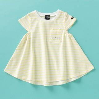 petit main - タグ付き新品❀✿プティマイン オーガニックコットン 胸ポケットTシャツ 100