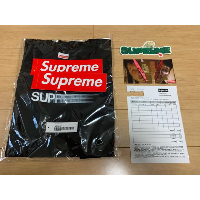 Supreme(シュプリーム)のSupreme Motion Logo Tee Black S メンズのトップス(Tシャツ/カットソー(半袖/袖なし))の商品写真