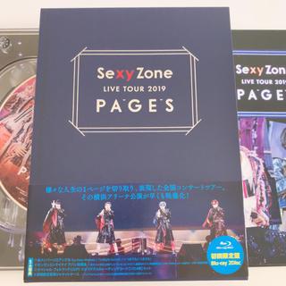 セクシー ゾーン(Sexy Zone)のSexy Zone LIVE TOUR 2019 PAGES(初回限定盤Blu-(ミュージック)
