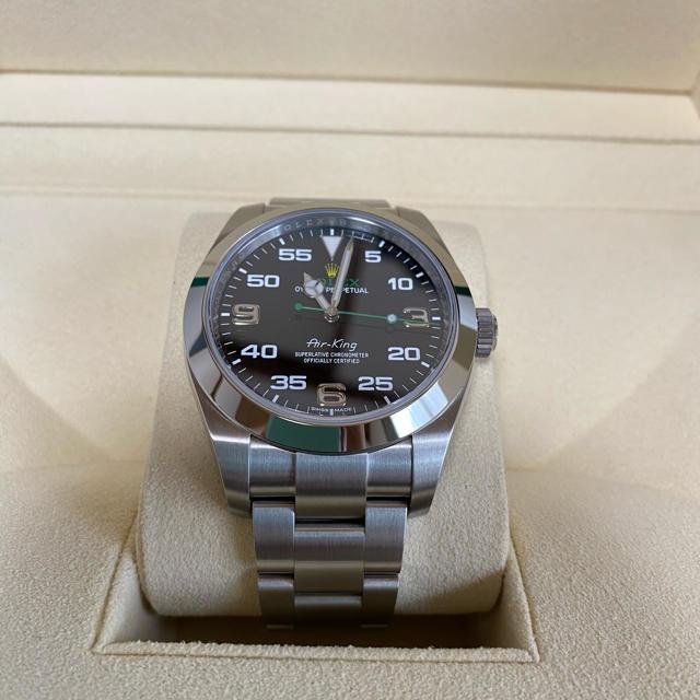 ROLEX(ロレックス)の★2020年ギャラ ロレックス エアキング 116900  メンズの時計(腕時計(アナログ))の商品写真