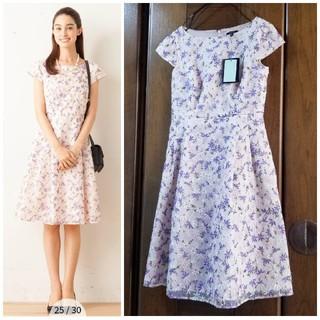 TOCCA - 【新品】TOCCA GARDENIA ワンピース ガーデニア 刺繍 ドレス