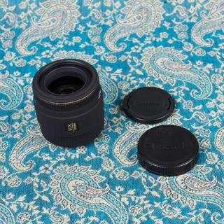 SIGMA - SIGMA シグマ マクロ 50mm F2.8 EX DG canon用 極美品