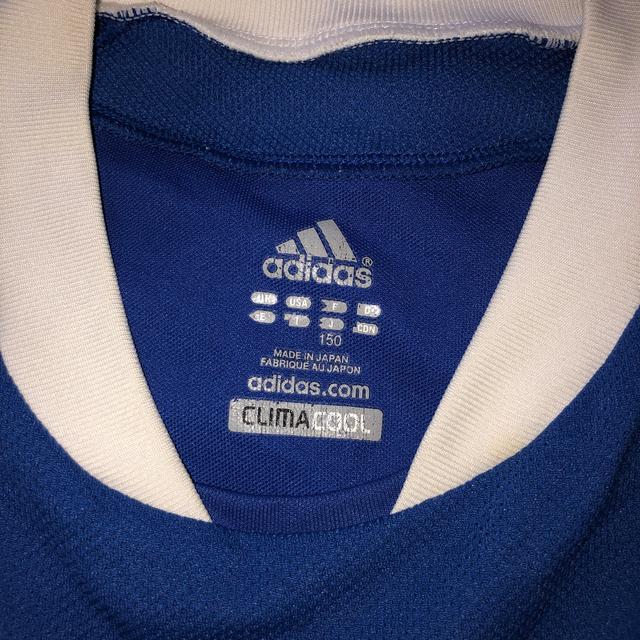 adidas(アディダス)のadidas スポーツ Tシャツ150cm 値下げしました❣️ キッズ/ベビー/マタニティのキッズ服男の子用(90cm~)(Tシャツ/カットソー)の商品写真