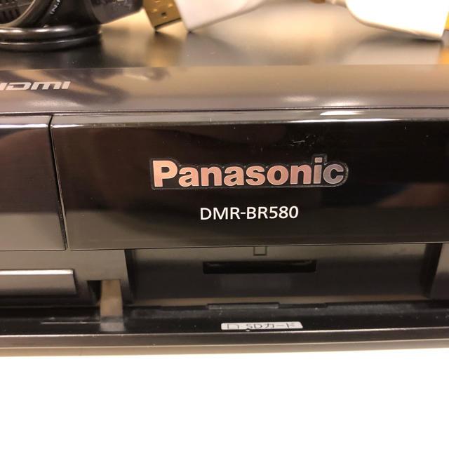 Panasonic(パナソニック)の専用  パナソニック BDレコーダー DMR-BR580 スマホ/家電/カメラのテレビ/映像機器(ブルーレイレコーダー)の商品写真