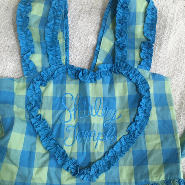 Shirley Temple(シャーリーテンプル)のシャーリーテンプル  名作 サンドレス 未使用 美品 120 キッズ/ベビー/マタニティのキッズ服女の子用(90cm~)(ワンピース)の商品写真
