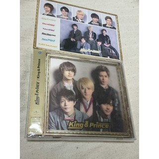Johnny's - king & prince CD 初回限定盤 B 特典ステッカー付 初回 限定版