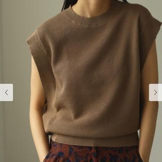 TODAYFUL - 【完売】TODAYFUL Sleeveless Linen Knit ニット