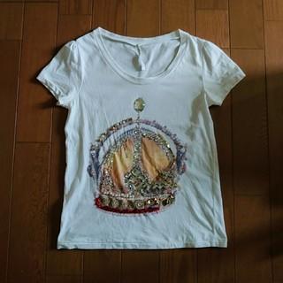 スナオクワハラ(sunaokuwahara)のスナオクワハラ クラウン モチーフ Tシャツ(Tシャツ(半袖/袖なし))