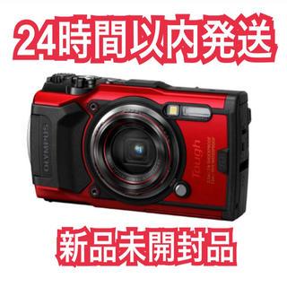 OLYMPUS - オリンパス デジタルカメラ Tough レッド TGー6 RED