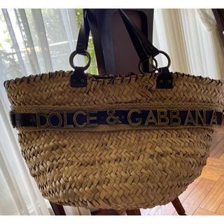 ドルチェアンドガッバーナ(DOLCE&GABBANA)のほるもん様ご専用 DOLCE & GABBANA かごバッグ(かごバッグ/ストローバッグ)