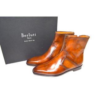 ベルルッティ(Berluti)のBERLUTI ベルルッティ BRUN Scars Demesureレザーブーツ(ブーツ)
