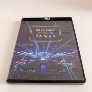 セクシー ゾーン(Sexy Zone)のSexy Zone LIVE TOUR 2019 PAGES(Blu-ray) (ミュージック)
