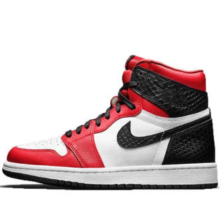 NIKE - NIKE WMNS AIR JORDAN 1 HIGH SATIN RED