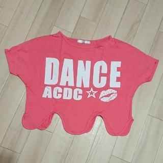 エーシーディーシーラグ(ACDC RAG)のUSED/ACDCエーシーディーシー 変形ロゴTシャツ(Tシャツ(半袖/袖なし))