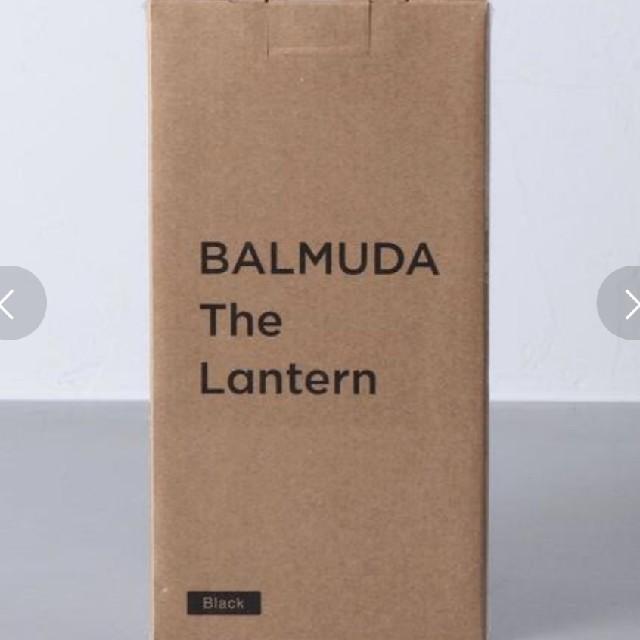 BALMUDA(バルミューダ)の新品未使用BALMUDA The Lantern 黒 バルミューダ ランタン スポーツ/アウトドアのアウトドア(ライト/ランタン)の商品写真