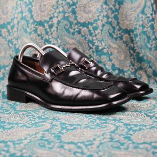 Gucci - イタリア製 最高級靴 GUCCI グッチ ビットローファー 黒