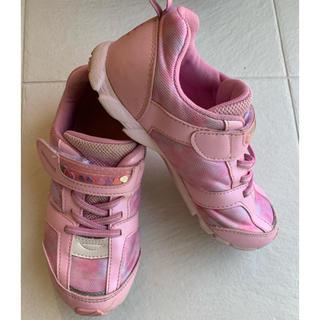 SUPERSTAR - 女の子 スニーカー 20cm スーパースター ピンク色