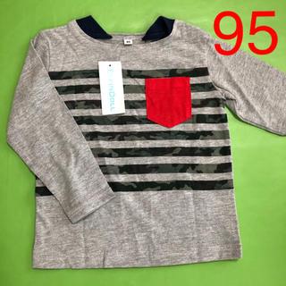 ニシマツヤ(西松屋)の新品タグ付き☆95サイズ 長袖(Tシャツ/カットソー)