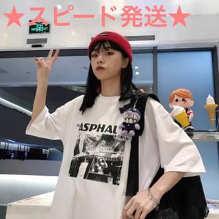 スタイルナンダ(STYLENANDA)のTシャツ レディースファッション 韓国ファッション(Tシャツ(半袖/袖なし))