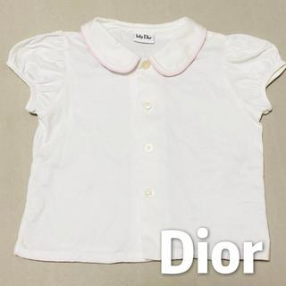 baby Dior - ベビーディオール baby Dior 長袖 ブラウス  70