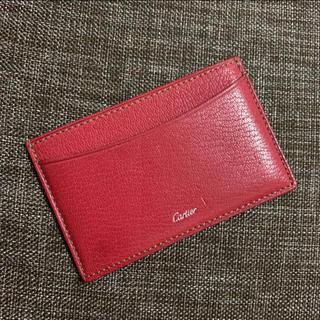 カルティエ(Cartier)の美品カルティエ 名刺入れ カード入れ(名刺入れ/定期入れ)