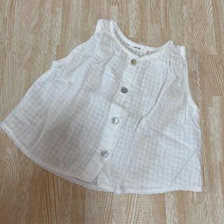 韓国子供服 uniuni  ブラウス トップス 80サイズ