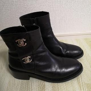 韓国 ブーツ 革
