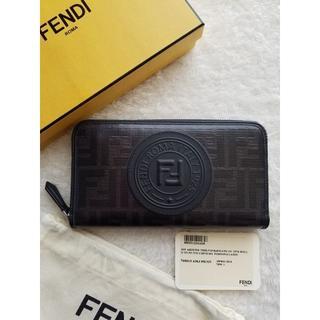 FENDI - FENDI フェンディ FFロゴ スタンプ 長財布