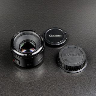 Canon - Canon キャノン 単焦点レンズ EF 50mm F1.8 II 送料無料