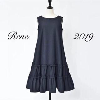 René - Rene 2019 新品同様 ルネ デニムワンピース 34(36)