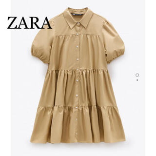 ZARA - ZARA フレアーワンピース