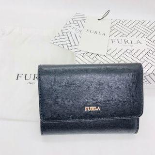 Furla - 新品未使用 FURLA フルラ 正規品 バビロン 黒 折り財布