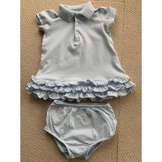 Ralph Lauren - ラルフローレン ポロシャツ、チュニック(ブルマ付)〜12か月