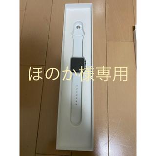 アップルウォッチ(Apple Watch)のほのか様専用Apple Watch3 38mm(腕時計(デジタル))