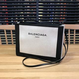 バレンシアガ(Balenciaga)の訳あり バレンシアガ 現行 ネイビーポシェット ショルダーバッグ キャンバス 黒(ショルダーバッグ)