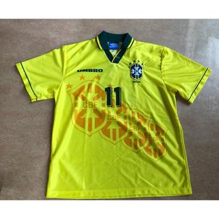 UMBRO - アンブロ サッカーブラジル代表ユニフォーム #11