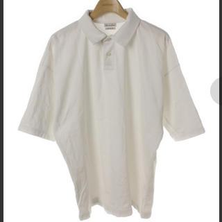 スティーブンアラン(steven alan)のsteven alan 半袖 ポロシャツ ホワイト しろ(ポロシャツ)