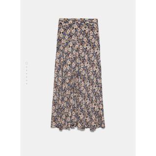 ZARA - ZARA 花柄スカート