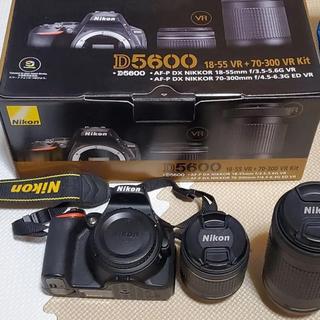 Nikon - 【単焦点レンズもセットで!】Nikon D5600 ダブルズームレンズキット