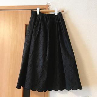 エヘカソポ(ehka sopo)のブラック スカート(その他)