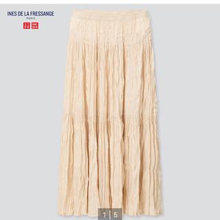 UNIQLO - ユニクロ イネス ツイストプリーツロングスカート プリーツスカート プリーツ