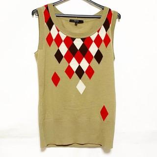 グッチ(Gucci)のグッチ ノースリーブカットソー サイズS -(カットソー(半袖/袖なし))
