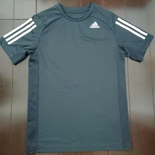 adidas - 濃いグレー Tシャツ 160