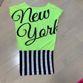 アビラピンク(AVIRA PINK)のAVIRA PINK ロングTシャツ(Tシャツ(半袖/袖なし))