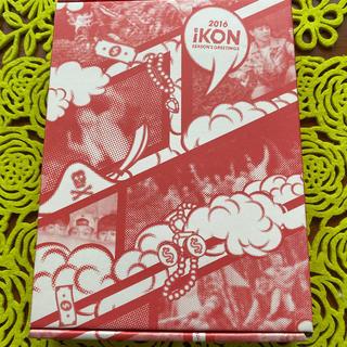 アイコン(iKON)の2016 iKON SEASON'S GREETINGS DVD(ミュージック)
